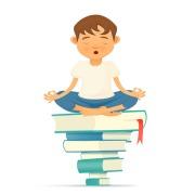garcon-meditation-livres